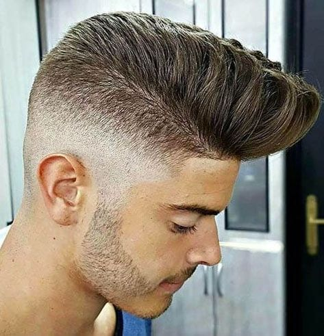 The 30 Most Stylish Comb Over Fade Haircuts #High #Fade with #Pompadour