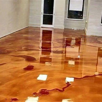 الايبوكسي ميتالك بالبحرين للمزيد من المعلومات المرجو التواصل عبر الواتساب 33572269 Metallic Epoxy Floor Epoxy Floor Flooring