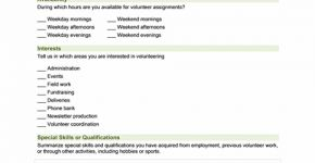 Employee Emergency Information Form  Collection Of Everyday Word