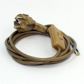 Lampen Anschlussleitung Mit Schalter Und Stecker 7 75 Lederarmband Stecker Schalter