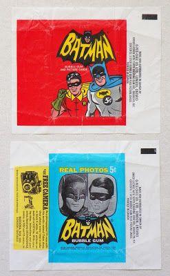 Patrick Owsley Cartoon Art And More Cartoon Art Bubble Gum Cards Batman