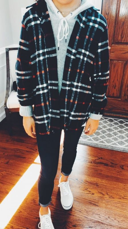42 best fashion teenage you should copy 27 - Halloween paare, Zara Lavu, Halloween paare 42 beste Mode Teenager . Trendy Fall Outfits, Fall Outfits For School, Popular Outfits, Cute Comfy Outfits, Fall Winter Outfits, Cute Outfits With Flannels, Girly Outfits, Comfy School Outfits, Flannel Outfits Summer
