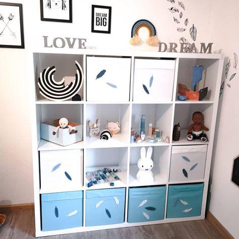 Kinderzimmer Ideen Mit Dem Ikea Kallax Regal Kidsroom Barnerom