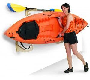 Kayak Storage On Side Of Garage   Google Search   Storage Ideas   Pinterest    Kayak Storage, Storage And Storage Ideas