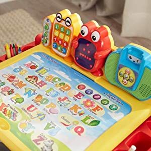 Amazon Com Vtech Touch And Learn Activity Desk Deluxe