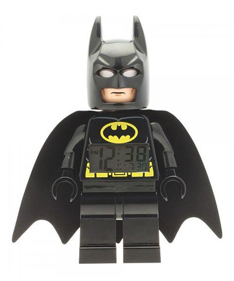 LEGO Super Heroes Batman Clock - perfect accessory for a little boy's bedroom! Maybe a big boy too! lol