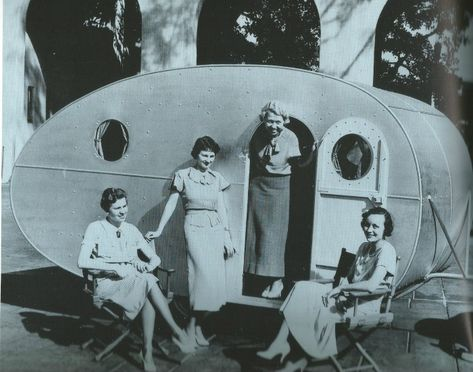 1936 Hollywood Nomad trailer Auto Club of California