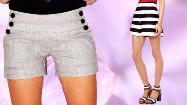 Pantalones Cortos De Mujer CentralMODA.COM