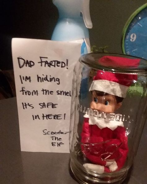 Here are over 70 Elf on the Shelf Ideas for Kids. These funny Elf on the Shelf ideas with notes will surely be a fun thing to do with kids for Christmas. Elf on the Shelf Ideas for Kids With Messages Which Kids Are Gonna Love - Hike n Dip Christmas Elf, Christmas Crafts, Christmas Messages, Christmas Decorations, Christmas Cookies, Christmas Ideas For Kids, Christmas Tables, Xmas Ideas, Christmas Desserts