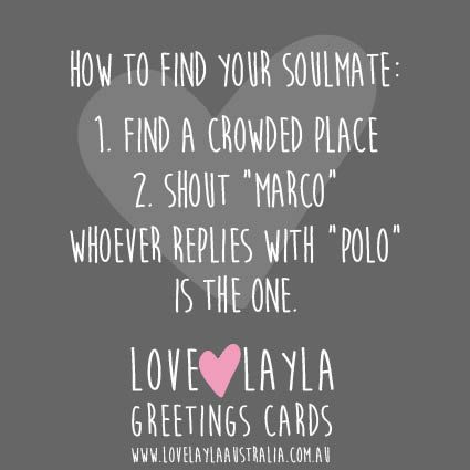 Marco Polo Love Husband Wife Boyfriend Girlfriend Soulmate Funny Humour Laugh Lovelaylaaustralia Gre Funny Quotes Funny Greeting Cards Funny Memes