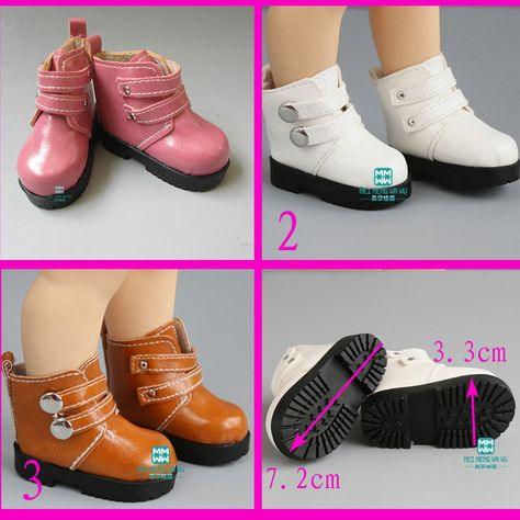 1Pair Fashion High Heels Boots Shoes For Doll Accessories Kids Toys Al