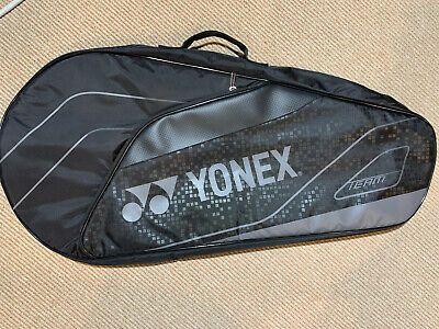 Advertisement Ebay Yonex Tennis Racquet Bag 3 Pack Bag4923ex Black In 2020 Tennis Racquet Bag Racquet Bag Yonex Tennis
