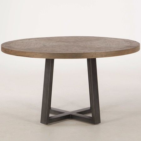 Masonry Concrete 48 Round Dining Table In 2021 Round Wood Dining Table Round Wood Table 48 Round Dining Table
