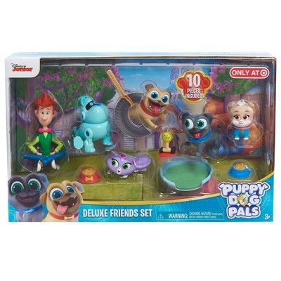 Puppy Dog Pals Deluxe Friend Set 10pc Dogs Puppies Friends