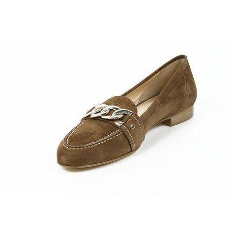 Versace 19.69 Abbigliamento Sportivo Milano ladies loafer 7016 Camoscio Marrone