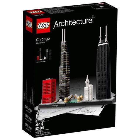 Pz 444 Architecture 12 Illinois USA LEGO 21033 CHICAGO