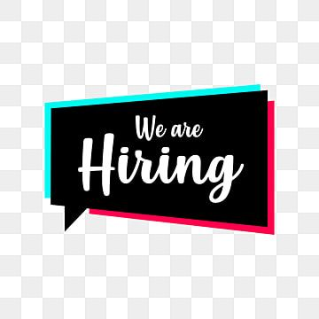 We Are Hiring Vector Design Template We Are Hiring Png Images We Are Hiring Vector Were Hiring Png Png And Vector With Transparent Background For Free Downlo In 2021 We Are