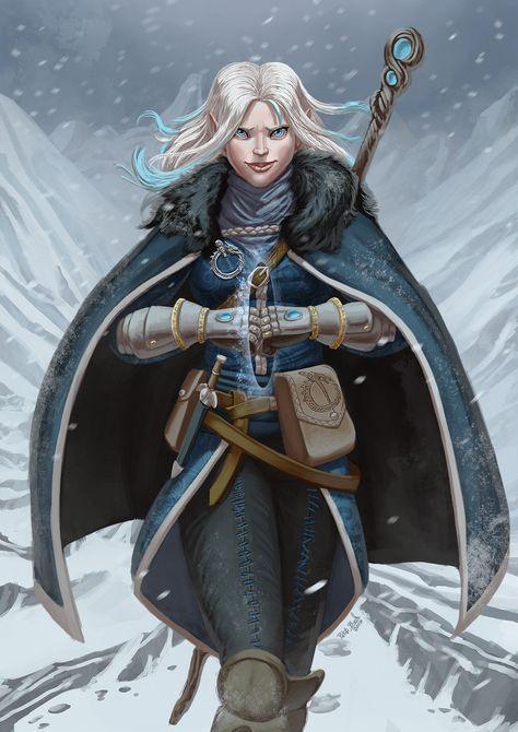 Female Elven Mage