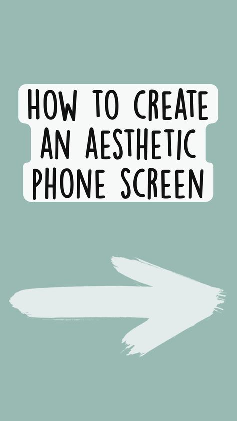 How to have an aesthetic phone