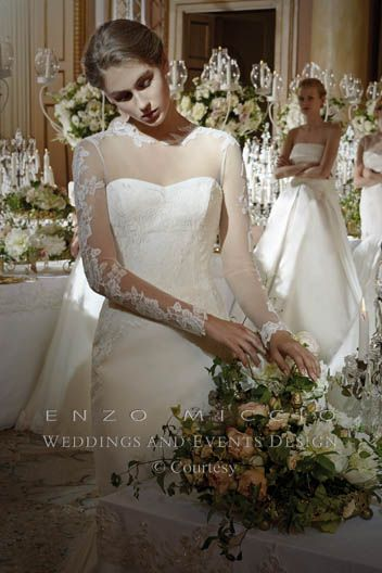 Bouquet Sposa Enzo Miccio.Enzo Miccio Bridal Collection Wedding Dress Advertsing Campaign