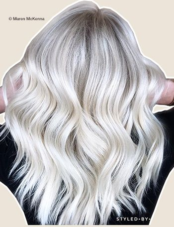 Hair By Maren Mckenna Prelightened To A Very Pale Yellow Toner