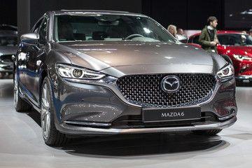 Mazda 6 Sedan At Automobile Barcelona 2019 Sponsored Sedan