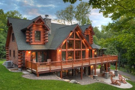 Log Home Photos Cabin Style Homes Log Cabin Homes Log Homes
