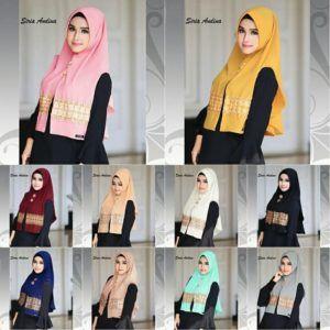 Baju Kuning Kunyit Cocok Dengan Jilbab Warna Apa