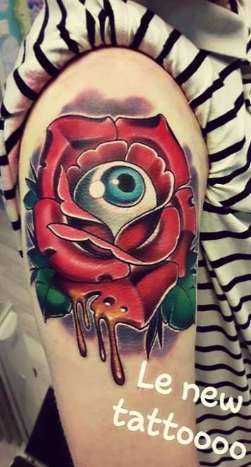 Eyeball Rose Tattoo Eyeball Tattoo Rose Tattoo Tattoos