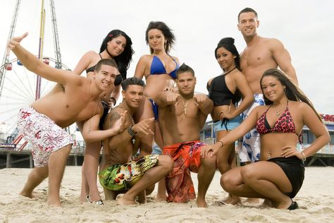 Jersey Shore Gym Tan Laundry Fist Bump Baby Reality Tv