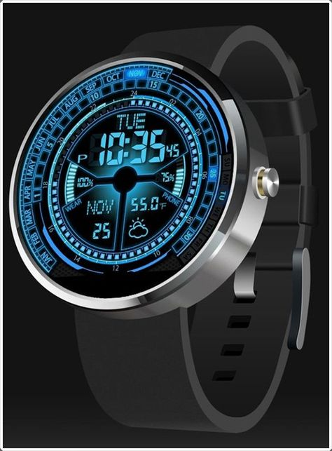 Cool mens watches are a must have whether you are an office going person or you work at some eating joint. Cool men watches can have a number of variations; the size of the dials may vary or even the material of the strap can be different.