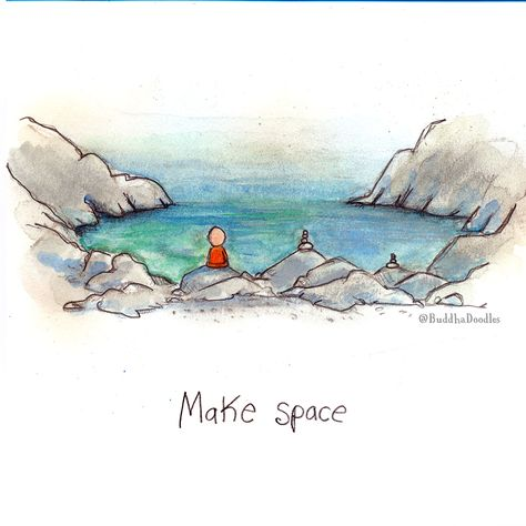 Today's Doodle: make space