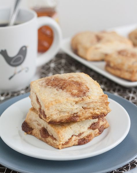 Cinnamon Honey Scones