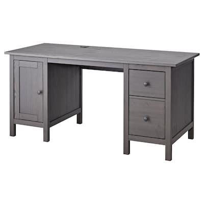 Hemnes Desk Black Brown 61x25 5 8 Ikea Grey Desk Hemnes Ikea Hemnes Desk