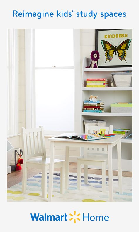 Set up happy spaces for every personality with quality kids' furniture made to inspire and encourage smart habits. Every kid needs a peaceful spot to focus, so create the perfect environment where they can stay occupied and neatly organized with simple storage solutions. Ensure every nook and cranny doesn't go to waste with desk varieties including fold-away, adjustable, and more space-saving options to complete their homework. Find clever and stylish picks they'll enjoy at amazing prices.