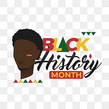 Black History Month Man Tribal Color Lettering African Black Culture Png Transparent Clipart Image And Psd File For Free Download In 2021 Black History Month Black History Month Men Black History