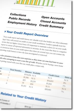 Credit Report  Credit Report    Credit Report Sample