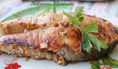 Salmone marinato allaceto balsamico