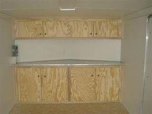 V Nose Enclosed Trailer Cabinets Kit4en Com Elkhuntingtrailer