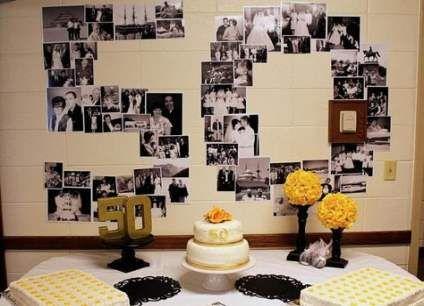 41 Best Ideas Wedding Decorations On A Budget Church Anniversary 50th Wedding Anniversary Decorations Wedding Anniversary Decorations Anniversary Decorations