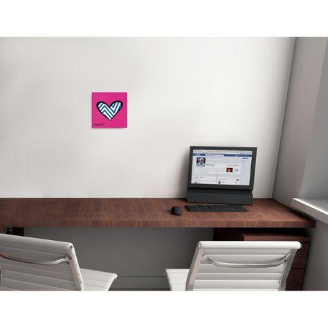 BRITTO - Zig zag love 19x19 cm #artprints #interior #design #art #print #iloveart #followart  Scopri Descrizione e Prezzo http://www.artopweb.com/categorie/arte-moderna/EC18441