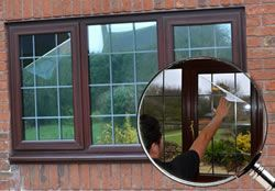 How To Use One Way Vision Window Film And Get Rid Of Those Old Net Curtains Mirror Window Film Window Film Window Film Diy