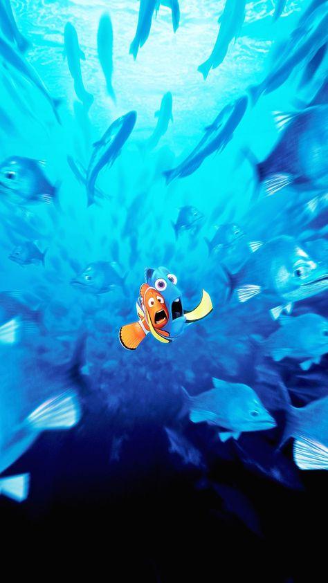 Finding Nemo (2003) Phone Wallpaper | Moviemania