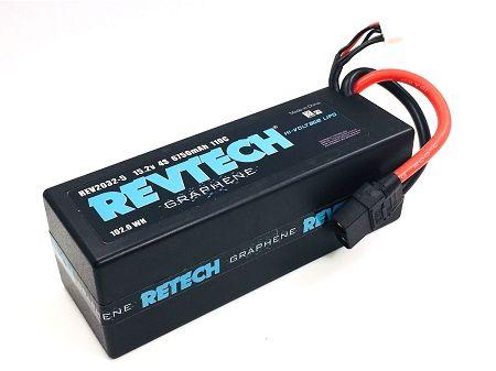 Revtech 4000mAh 11.1V 3S 110C Hole Shot Drag Master LiPo Battery Pack REV2035-5