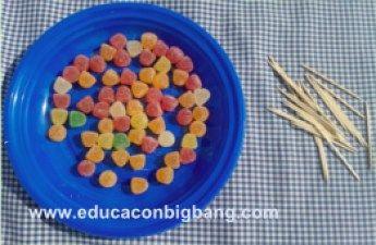 Geometria Con Palillos Y Chuches Experimentos Para Ninos Palillos Chuches