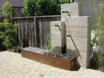 Concreteworks   Modern   Bathroom   San Francisco   Concreteworks    Exterior Upgrades   Pinterest   Modern Outdoor Fountains, Outdoor Fountains  And Fountain