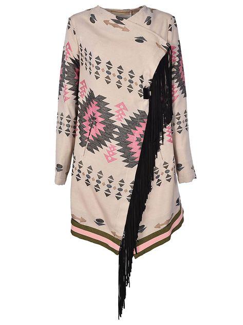 eb50577aff BAZAR DELUXE AZTEC PRINT COAT.  bazardeluxe  cloth