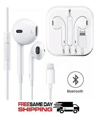For Apple Iphone 7 8 Plus X Xs Max Xr 11 Pro Wired Headphones Headset Earbuds Wired Headphones Headphones Earbuds