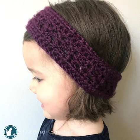 Crochet Pattern For An Easy To Make Toddler Headband Head Bands
