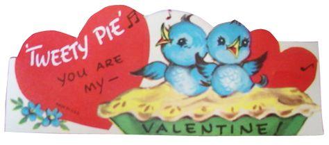 Bluebirds valentine